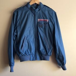 Members Only Iconic Vintage Racer Jacket Sz 38